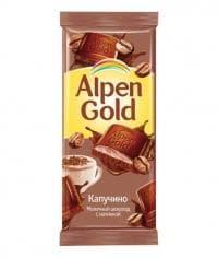 Шоколад Альпен Голд Капучино Alpen Gold 90г