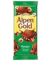 Шоколад Альпен Голд Фундук Alpen Gold 90 г