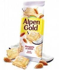 Шоколад Альпен Голд Миндаль и Кокос Alpen Gold 90 г