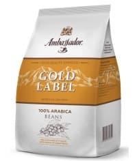 Кофе в зернах Ambassador Gold Label 1000 г (1 кг)