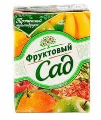 Фруктовый Сад Мультифрукт 200мл тетрапак 0.2