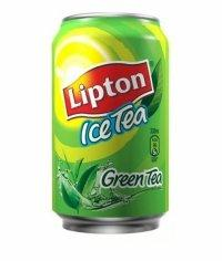 Чай Липтон Зеленый 330мл банка Lipton Ice Tea 0.33