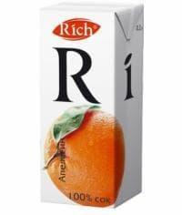 Сок Rich Апельсин 200мл. тетрапак 0.2