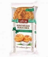 Бельгийское Кокосовое Печенье со сливочным вкусом LeKras 74г