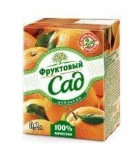 Сок Фруктовый сад Апельсин 200мл. тетрапак 0.2
