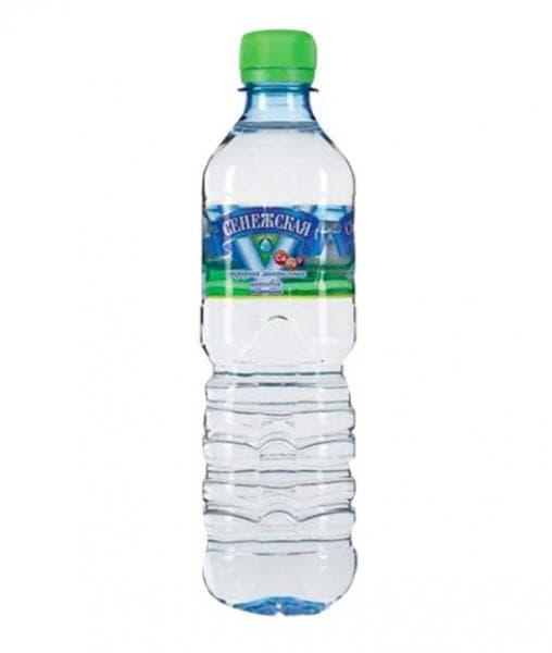 Сенежская минеральная вода без газа 500мл. пластик 0.5