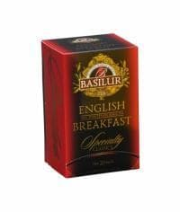Чай черный Basilur English Breakfast (пакетики) 40гр