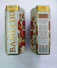 Чай каркаде Basilur Fruit Infusions клубника малина 100гр