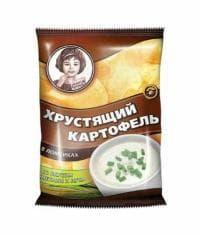 Чипсы Хрустящий картофель Сметана Лук 40гр.