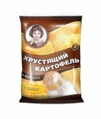 Чипсы Хрустящий картофель Соль 40гр.