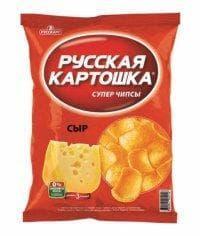 Чипсы Русская Картошка Сыр 20 г