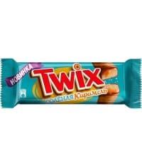 Шоколадный батончик Twix Твикс Соленая карамель 55г