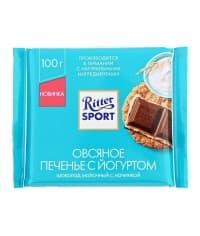 Шоколад Ritter Sport молочн. Овсяное печенье с йогуртом 100г