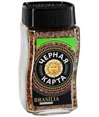 Кофе раств. Черная Карта Exclusive Brasilia стекл. банка 47,5 г