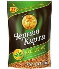 Кофе раств. Черная Карта Exclusive Brasilia пакет 75 г