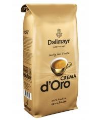 Кофе в зернах Dallmayr Crema d'Oro 1000 гр (1кг)
