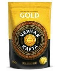 Кофе раств. Чёрная Карта Gold пакет 150г