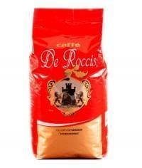 Кофе в зернах De Roccis Rossa Cremoso 1000 г (1 кг)