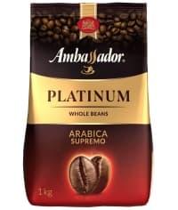 Кофе в зернах Ambassador Platinum 1000 г