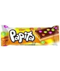 Печенье Papita Caramel мол. шоколад с карамелью и цвет. драже 33 г