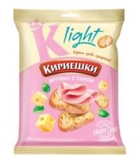Сухарики Кириешки Light Ветчина с сыром 33 г