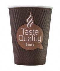 Бумажный стакан Taste Quality Sense Craft 2-слойный (100 шт) d=90 300мл