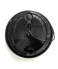 Крышка с колпачком на поводке FLIP-TOP Черная d=80