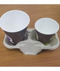 Держатель стаканов cup holder на 2 стакана от 140 мл