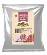 Молочный коктейль DeMarco Малина 1000 гр (1 кг)