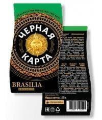 Кофе раств. Черная Карта Exclusive Brasilia стекл. банка 95 г