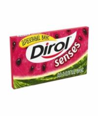 Жевательная резинка Дирол Senses Арбузный вкус 13,5 г