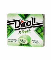 Жевательная резинка Дирол X-Fresh Мятная свежесть 16 грамм