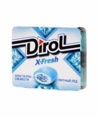 Жевательная резинка Дирол X-Fresh Мятный лед 16 грамм