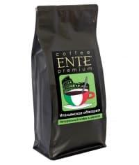 Кофе в зернах ENTE Итальянская обжарка 1000 г (1 кг)