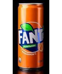 Газированный напиток Fanta 330мл жест. банка 0.33