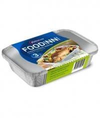 Набор алюм. форм с крышками Foodinni 850 мл (3 шт)
