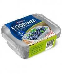 Набор алюм. форм с крышками Foodinni 400 мл (5 шт)