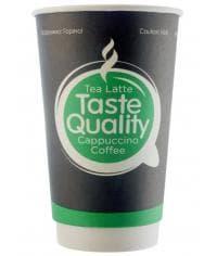 Бумажный 2-слойный стакан Taste Quality d=90 400мл