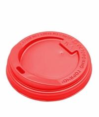 Крышка для стакана Красная d=80