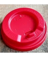 Крышка с клапаном (100 шт) Красная d=90