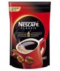 Кофе раств. с молотым Nescafé Classic пакет 250г