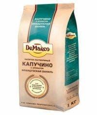 Капучино Французская ваниль DeMarco 1000г (1 кг)