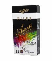 Кофейные капсулы для Nespresso Блюз Ассорти 11 шт