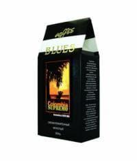 Кофе молотый Блюз Classic Колумбия СУПРЕМО 200 гр (0,2 кг)