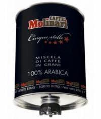 Кофе в зернах Caffe Molinari 100% Arabica Пять Звезд 3000 гр (3кг)