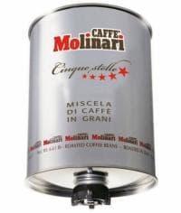Кофе в зернах Caffe Molinari Пять Звезд 3000 гр (3кг)