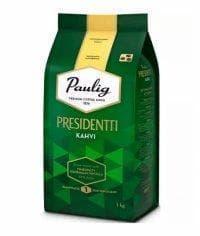 Кофе в зернах Paulig Presidentti Kahvi 1000 гр (1кг)