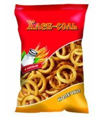Колечки с солью Хлеб-Соль 40г