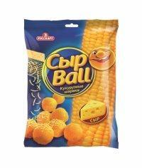 СЫРBALL кукурузные шарики20гр.