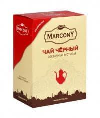 Чай Marcony чёрный листовой «Восточные мотивы» 200г